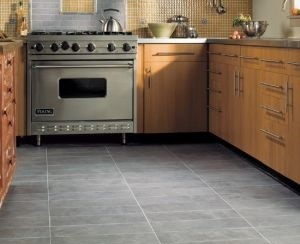 Kitchen with tile floor images kitchen flooring ideas best images collection - Carrelage vintage cuisine ...