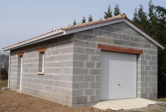 Devis construction garage prix de construction - Structure en bois pour garage ...