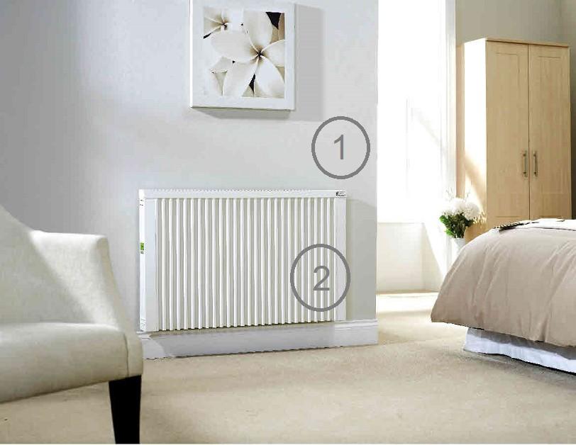 La pose de radiateurs électriques