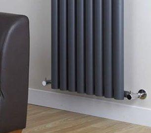 La préparation de la pose de radiateurs à eau chaude