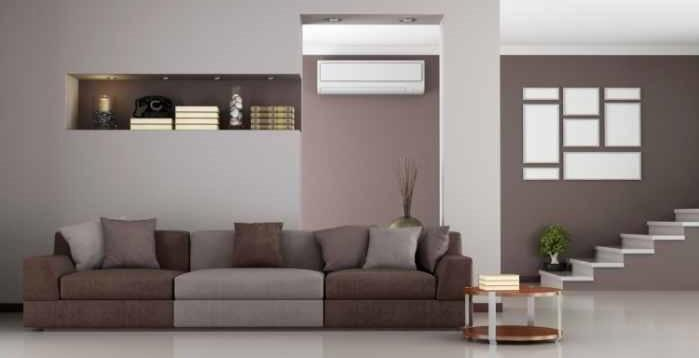 Climatisation dans un salon
