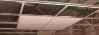 Faux plafond en cadrettes