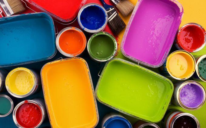 Les types de peinture
