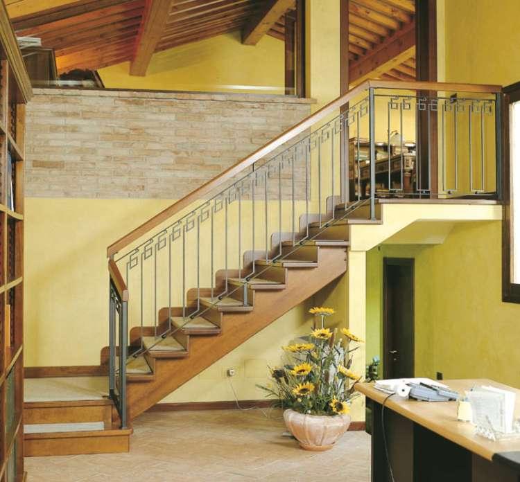un escalier en interieur