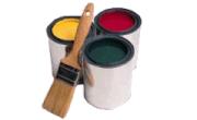 Les composants de la peinture