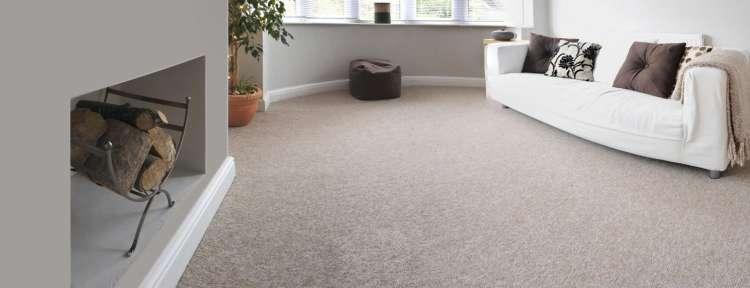 salon avec moquette au sol