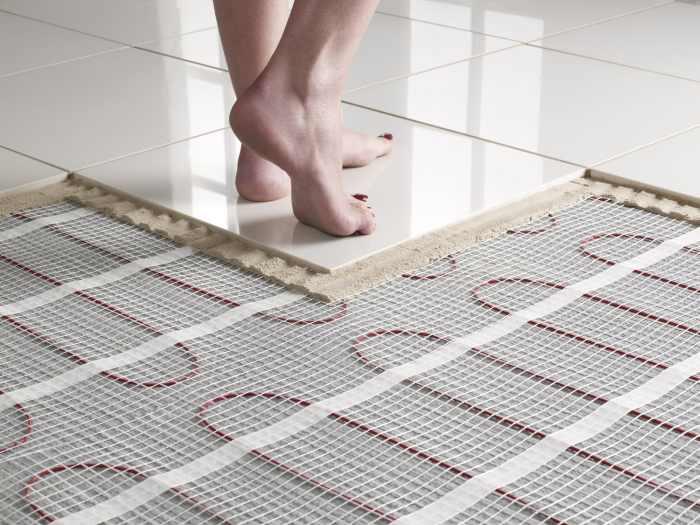 prix d'installation d'un chauffage au sol : plancher chauffant