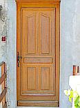 Porte extérieure, porte d'entrée