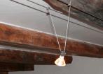 Spot électrique sur suspente